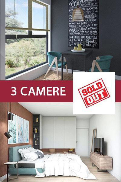 Apartamente cu 2 camere - Sold Out