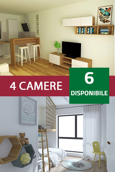 Apartamente cu 4 camere
